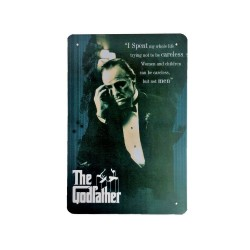 Vintage metal poster for decoration, metal sign - The Godfather