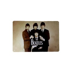 Vintage metal poster for decoration, metal sign - The Beatles