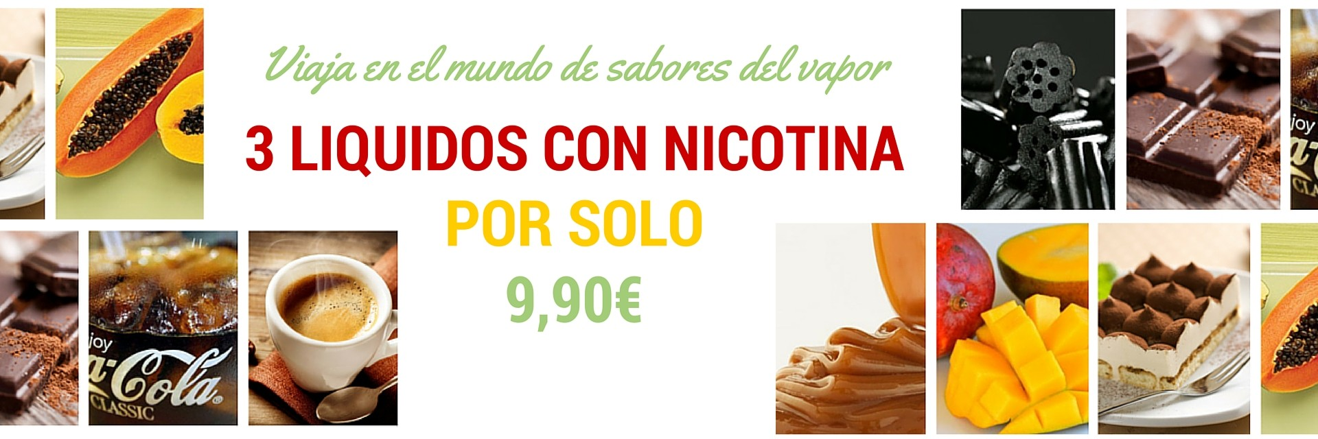 Nicotine liquids- 3 for 9,90€